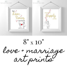 Love + Marriage Printable Art Set