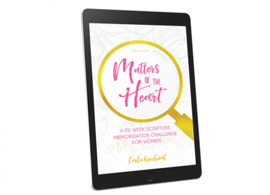 Matters of the Heart: A 52-Week Scripture Memorization Challenge for Women (eBook)