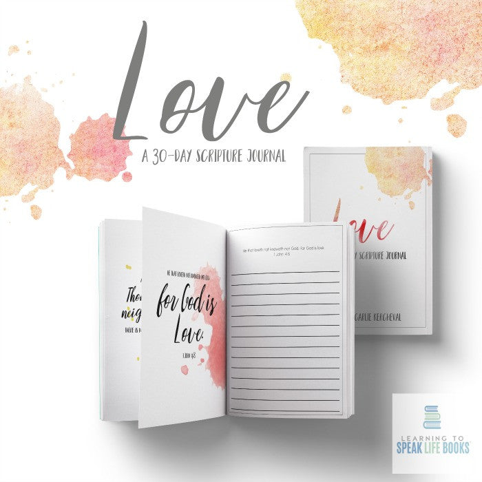 Love: A 30-Day Scripture Journal (Digital PDF)
