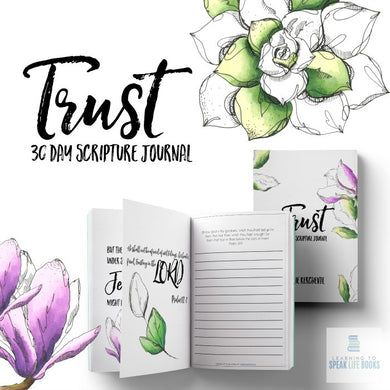 Trust: 30-Day Scripture Journal (Digital PDF)