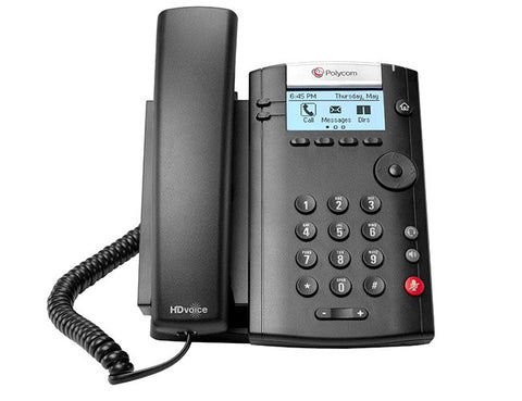 Polycom VVX 201 Business Media Phone - EcoVoIP
