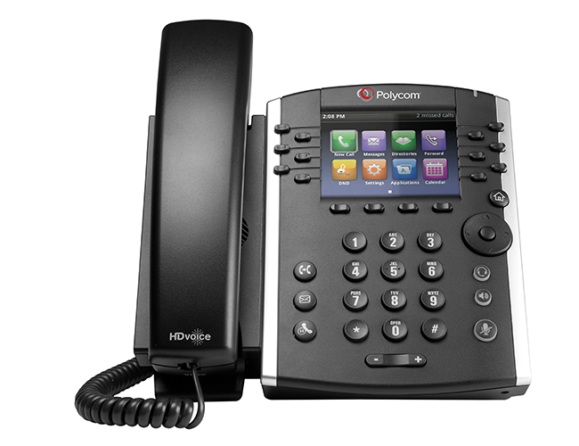 Polycom VVX 400 Business Media Phone - EcoVoIP