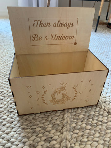 Keepsake Unicorn Box