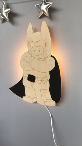 BatHero Night Light
