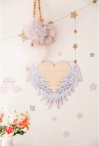 Angel Heart Decor