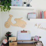 Scooter Wall Decor