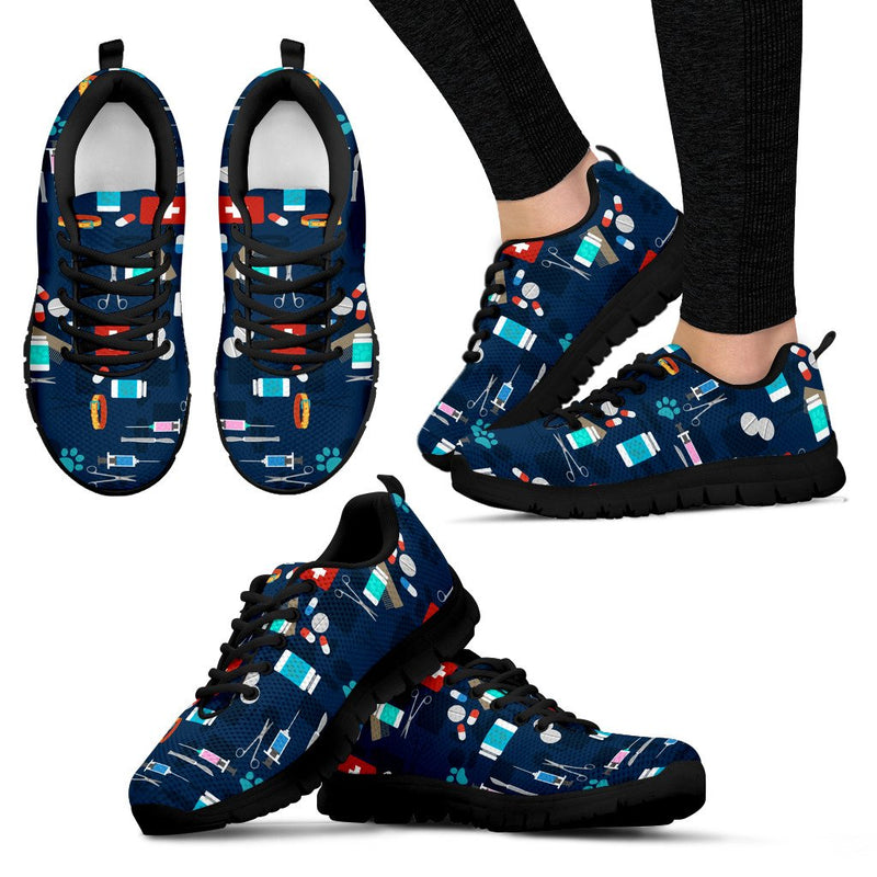 Vet Professional Womens Sneaker LIMITED EDITION black