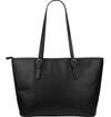 Music Large Leather Tote Bag - Need Those Sneakers