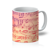 Music Score Mug - Need Those Sneakers