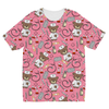 Nurse Teddy Cell Case - Pink Kids Sublimation TShirt - Need Those Sneakers