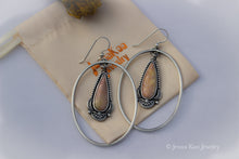 Halo Earrings | Willow Creek Jasper Teardrops