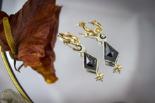 Cerberus Earrings | Hematite | Mixed Metals