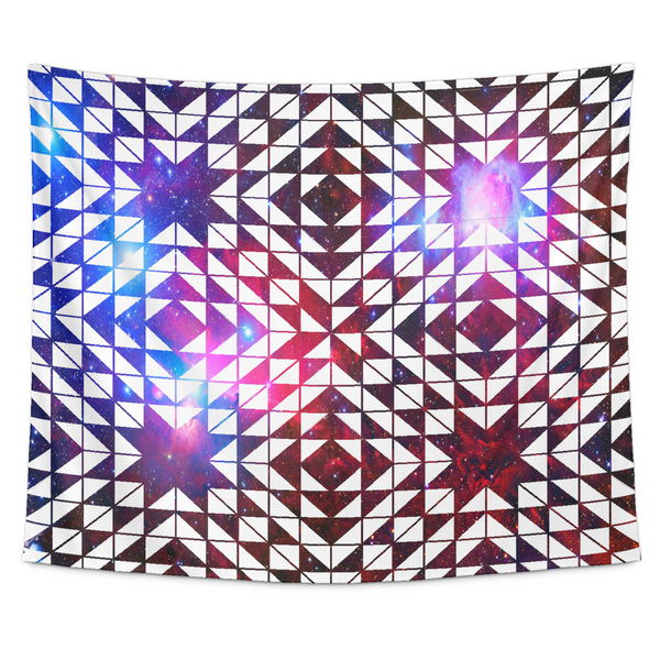 Galaxy Kaleido Tapestry - Electric Origins