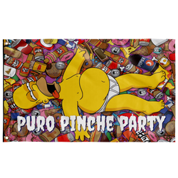 Puro Pinche Party Homer Custom - Electric Origins