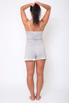 Cami and Shorts Set with Satin Trim