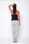 Slouch Pant - Grey Marle