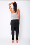 Slouch Pant - Black and Grey Marle  PROMO CODE WW30 means $62.97