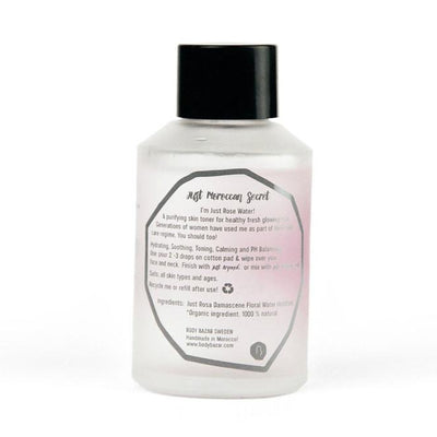 rose water dull skin glow