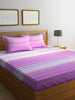 100% Cotton King size Double Bedsheet  With 2 pillow covers. (BED1582)