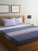 100% Cotton King size Double Bedsheet  With 2 pillow covers. (BED1583)