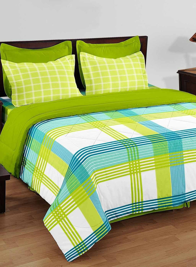 Bon 100% Cotton King Size Double Bedsheet With 2 Pillow Covers. (BED1719) U2013  Biancahomestore