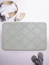 BIANCA Quilted Micro Fibre Luxor Memory Foam Bath Mat with Anti skid & HD Rubber Backing (BM601)
