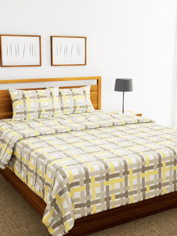 Bianca BED IN A BAG- 1 PC Double Bed Comforter,1 PC Double bedsheet, 2 PC pillow covers (COMF658)