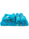 7 Pc Sonoma Towel Set 100% Cotton (1 Bath Towel+ 2 Hand Towel + 4 Face Towel) (C_Bt121Z_Ht53Z_Ft91Z)