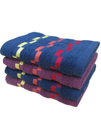 4 Piece Hand Towel (100% Cotton) (C_Ht50Z_Ht51Z)