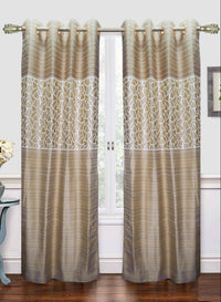 mustard designer door curtain (DC35)