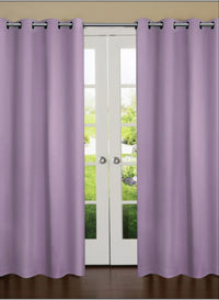 Dark Roseberry Solid Premium Blackout Door Curtain (DC27)