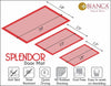 Splender Door Mat With Nylon Fiber & High Density Rubber Backing. (Dm08)