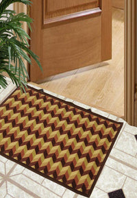 Splender Door Mat With Nylon Fiber & High Density Rubber Backing. (Dm26)
