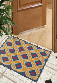 Splender Door Mat With Nylon Fiber & High Density Rubber Backing. (Dm37)