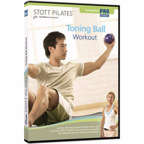 Merrithew Toning Ball Workout Instructional DVD, Stott Pilates