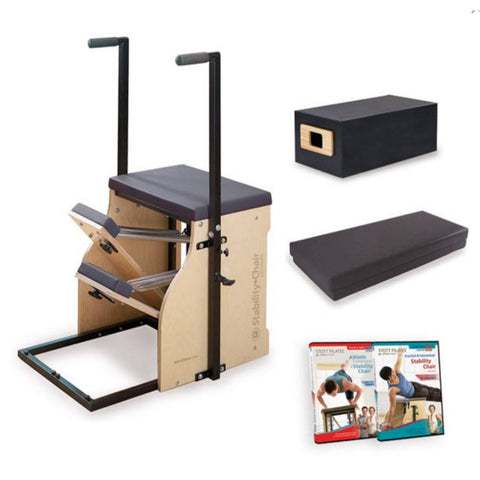 Merrithew Split-Pedal Stability Chair Bundle, Stott Pilates Chair