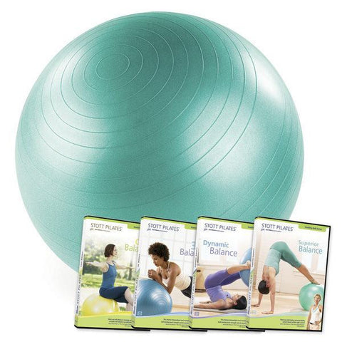 "Merrithew Stability Ball™ 4 DVD Set - 26"" (Green), Stott Pilates"