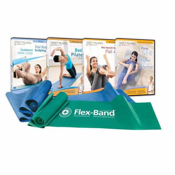 Pilates Flex Stott Flex-Band® Body Sculpting Kit