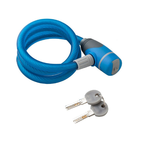 Via Velo 1m Bicycle Keyed Lock - Viavelo