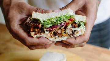 Spicy Jerk Fried Chicken Sandwich