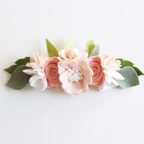 'Ballet' large flower crown