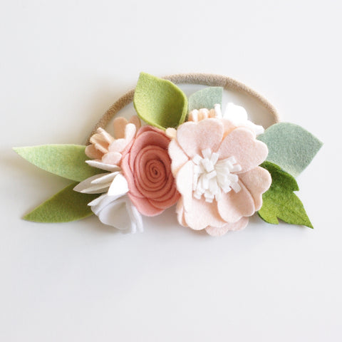 'Ballet' small flower crown