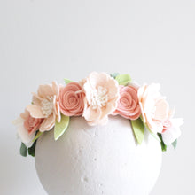 'Ballet' maxi flower crown