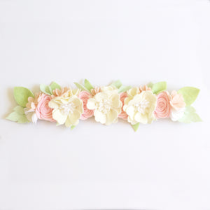 'Giselle' maxi flower crown