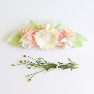 'Giselle' large flower crown