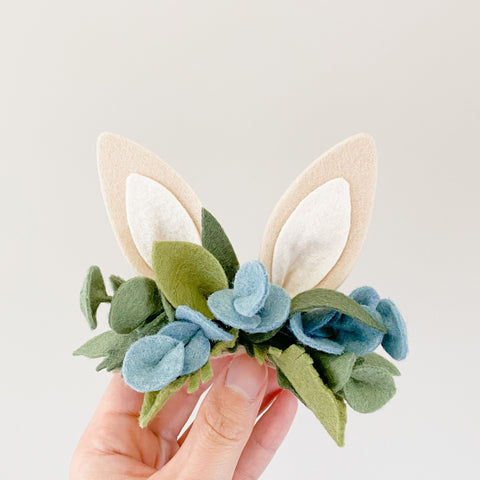 Bunny Ears Headband - Gum Leaves