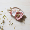 Blush Pink Luxe small flower crown