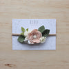 Rose Gold Luxe Posy Headband