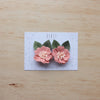 Kirei Bloom set of 2 piggies clips - blush