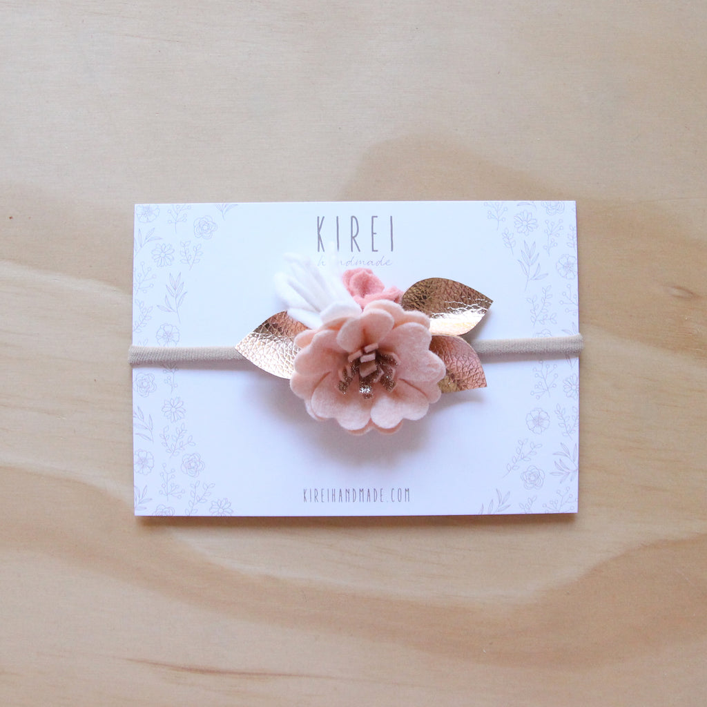 Charlotte luxe petite headband/ hair clip